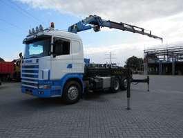 zware last trekker Scania 124 6x2  Hmf 3722 K6 2002