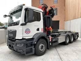 containersysteem vrachtwagen MAN New Generation MAN TGS 35.470 8x4-4 BL-NN kraan+containerhaak 4x 2020