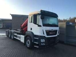 containersysteem vrachtwagen MAN TGS 35.470 8x4-4 BL-M kraan+containerhaak 2020
