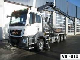 containersysteem vrachtwagen MAN TGS 35.470 8x4-4 BL-M 2x kraan+containerhaak 2019