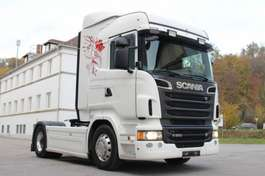 standaard trekker Scania R560 Reifen 90% Kipp Hydraulik Leasing 2013