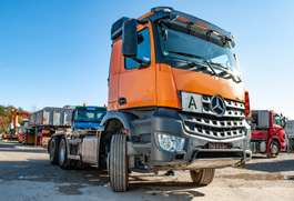containersysteem vrachtwagen Mercedes Benz Arocs 2640 6x4 Abrollkipper VDL 21 to 2014