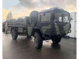 leger vrachtwagen MAN kat 4x4 1979