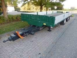 platte aanhanger vrachtwagen Burg 2 As Wipkar Open - Auto - Machinetransporter, WV-27-JT 1999