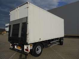 gesloten opbouw aanhanger FHS Hilden 2 As Vrachtwagen Aanhangwagen Gesloten - Stalling - Reclame A... 1993