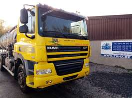 tankwagen vrachtwagen DAF DAF CF85.360 AVEC CITERNE EN INOX 2 COMP 2008