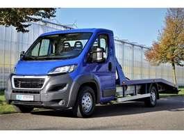 takelwagen bedrijfswagen Peugeot Boxer 2.0 163 pk 2017
