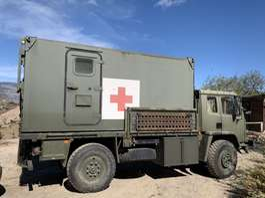 leger vrachtwagen Leyland AEC Daf Leyland daf 4 ton 4x4 LHD cargo 1991