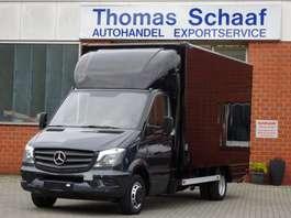 bakwagen bedrijfswagen Mercedes Benz Sprinter 515 Cdi Koffer Maxi Klima LBW 3.5t Euro 4 2007