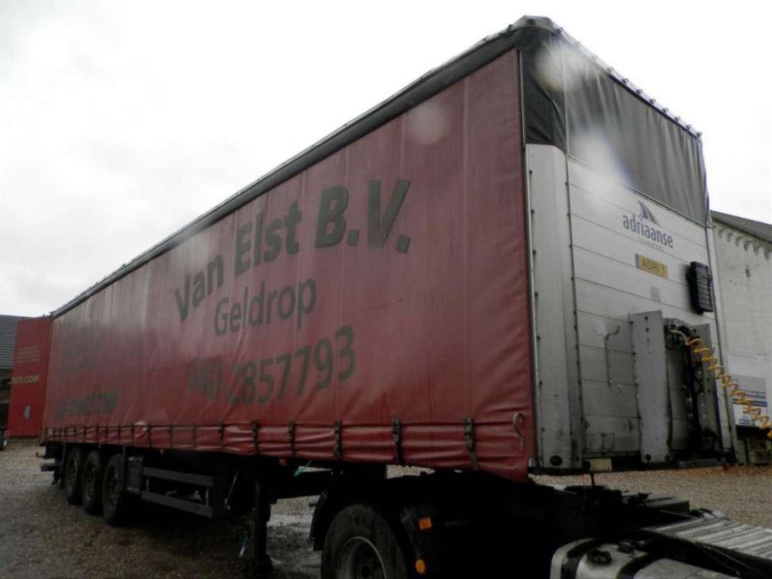 schuifzeil oplegger Schmitz Cargobull 3-assige oplegger 2001