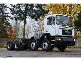 chassis cabine vrachtwagen MAN 35.343 chassis 8x4 model 1997 1997