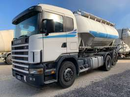 tankwagen vrachtwagen Scania 124.420 SILO 18.000L 2004