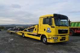 autotransporter vrachtwagen MAN 8.220 / Doppelstock / 4 x PKW / Seilwinde 2014