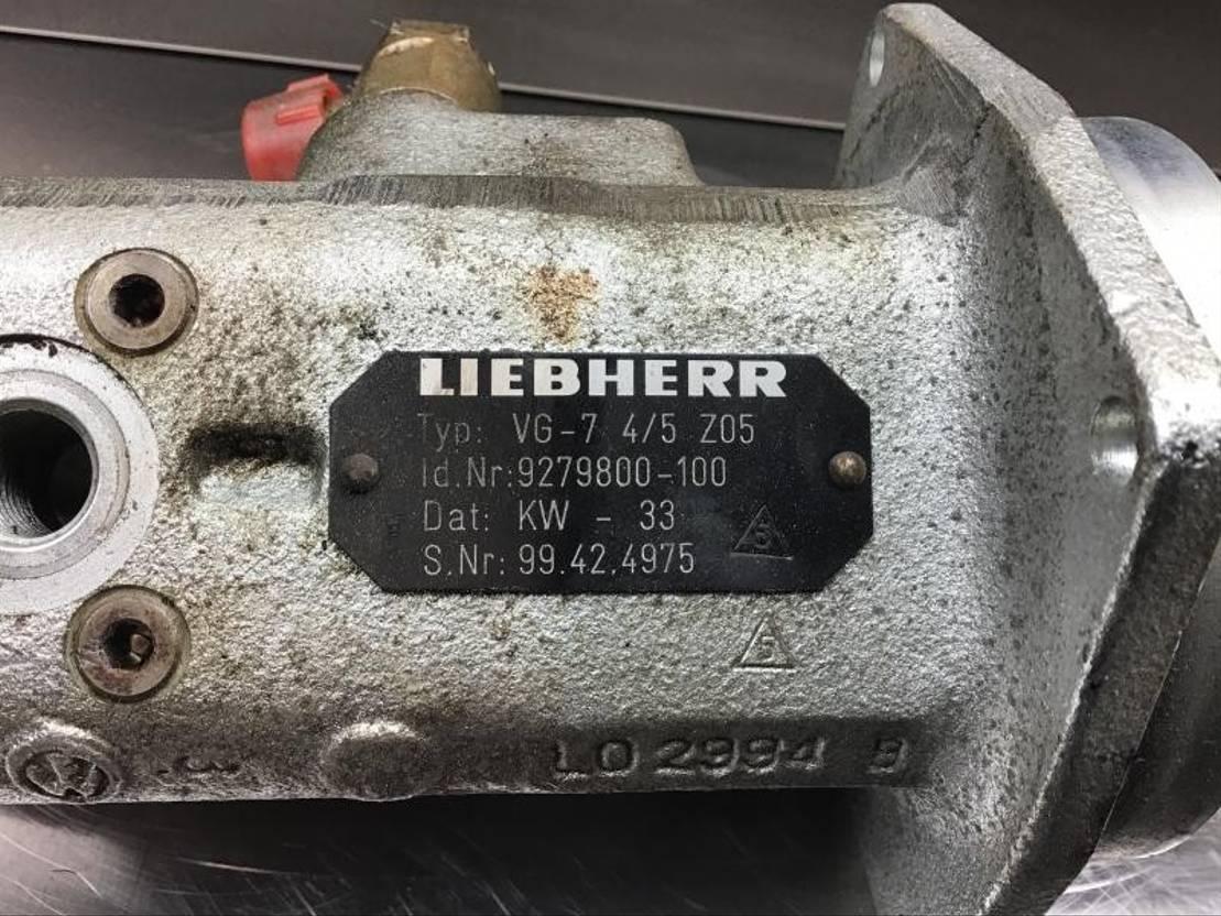 cabine - cabinedeel equipment onderdeel Liebherr Liebherr - Pilot Control Unit