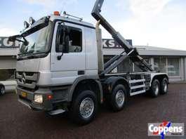 containersysteem vrachtwagen Mercedes Benz Actros 4144 K 8x4 Euro 5 2010