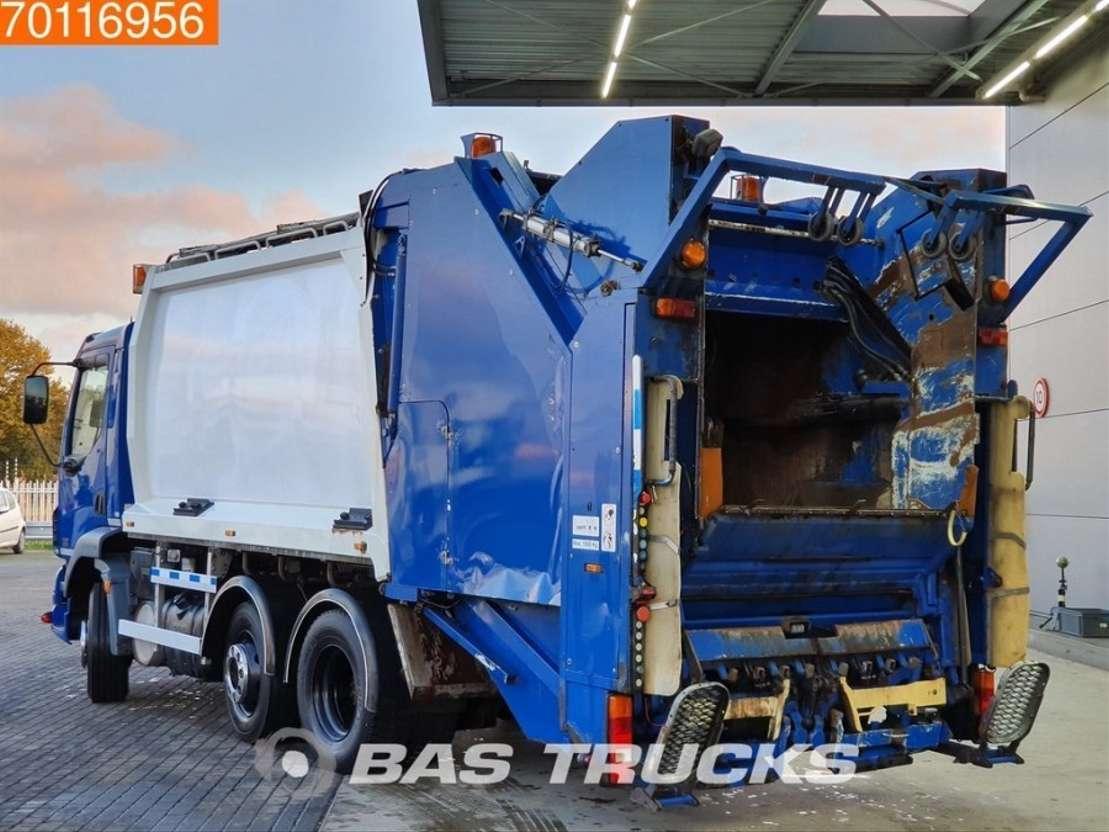 vuilniswagen vrachtwagen DAF LF55.220 6X2 Lenkachse Geesink Aufbau Euro 3 2006