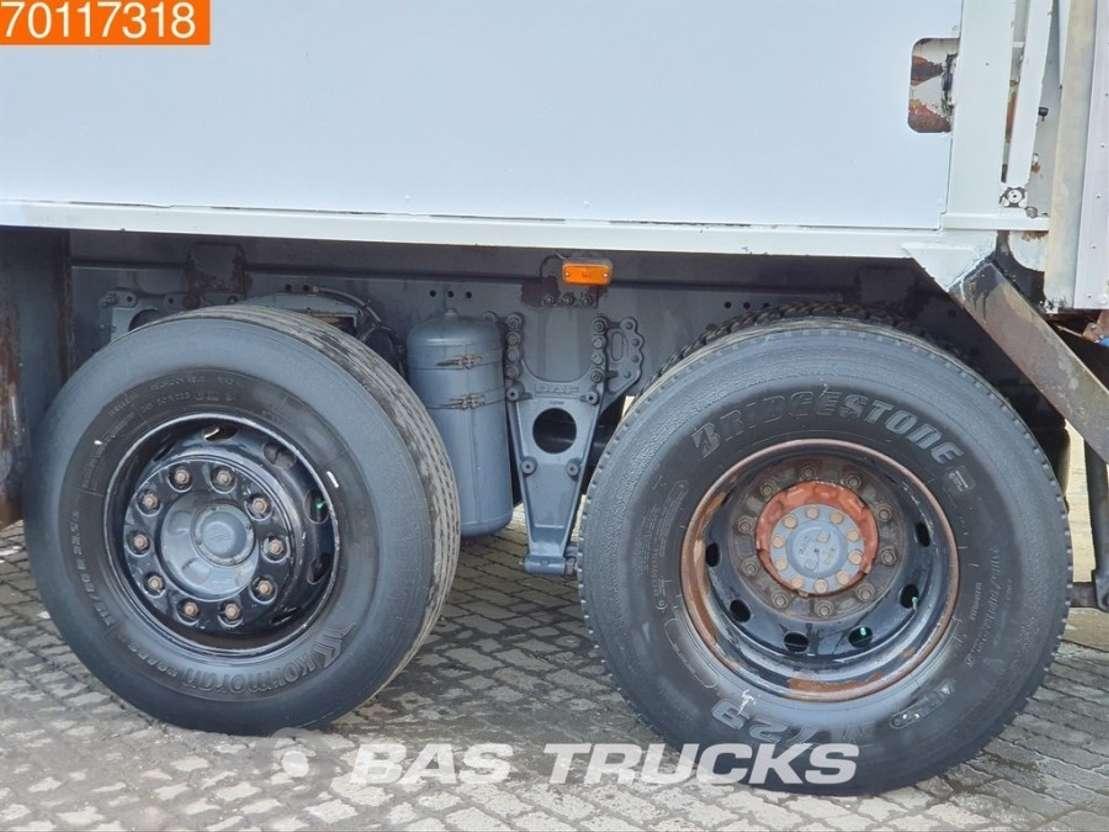 vuilniswagen vrachtwagen DAF CF75.250 6X2 Lenkachse Euro 3 Geesink Aufbau 2003