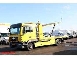 takelwagen-bergingswagen-vrachtwagen MAN TGL BL 12.250 Tischer 2x Lier Bril Doppelstock Euro 5 2011