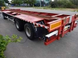 platte aanhanger vrachtwagen Krone , ATM, Pacton - 3 As Aanhangwagen T.b.v. Wissellaadbakken - Luchtvering ...