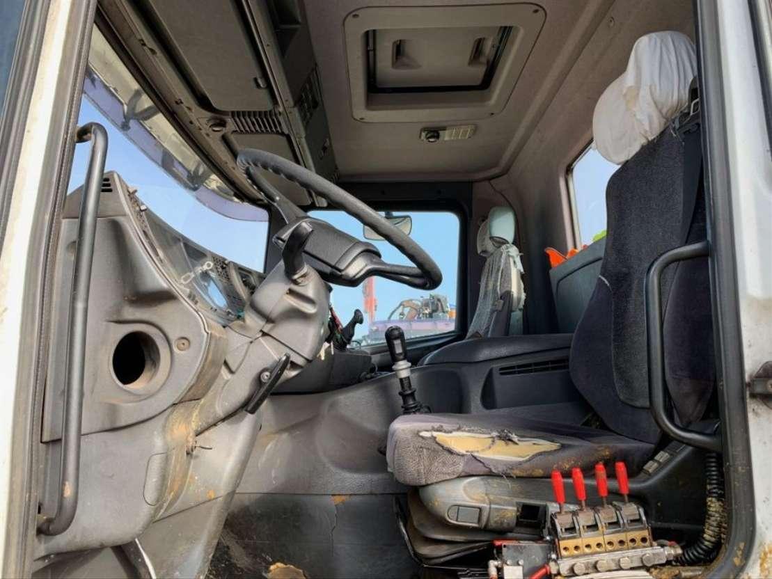 huifzeil vrachtwagen Scania 124.420 8x2 2001