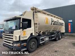 silo vrachtwagen Scania P94 260 manual 6x2 bulk 2001