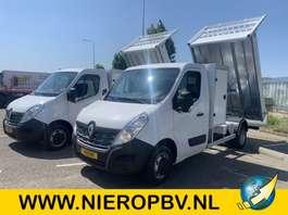 platform bedrijfswagen Renault master Kieper Nieuw ! Airco 150PK 2019