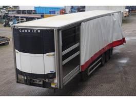 koel-vries oplegger Sor Curtainside Reefer Carrier Vector 1800 (Diesel/ Electric) 2004