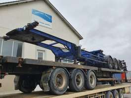 containersysteem oplegger Trouillet Slide chassis - DRUM 1998