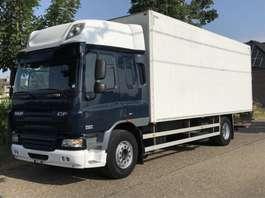 bakwagen vrachtwagen DAF CF 75 / 310 PK / EURO 5 / BE TRUCK / TREKHAAK 2009