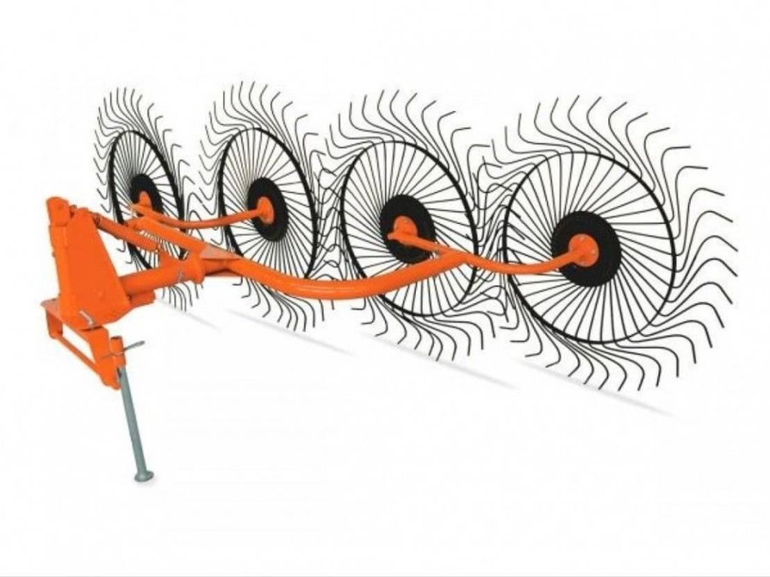 hark DIV. ACROBAAT 4 wiel hark