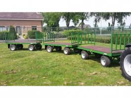 platte aanhangwagen MINI transportwagen