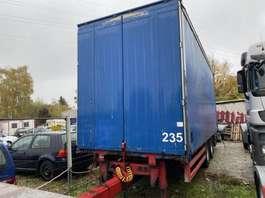 platte aanhanger vrachtwagen Orten AG18 2004