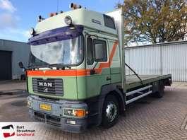 autotransporter vrachtwagen MAN 19.364 machinetransporter oprijwagen 1999