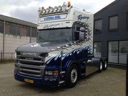 zware last trekker Scania T164 GA 6X4NB 480 2004