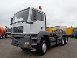 containersysteem vrachtwagen MAN TGA 26.390 + Manual + Hook system 6x6 2004