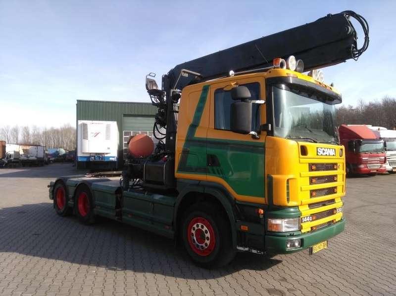 Scania - R 144 GA 6X4 NZ  530 3