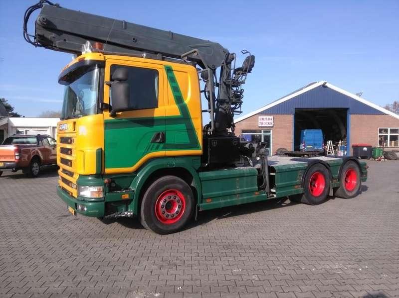 Scania - R 144 GA 6X4 NZ  530 1