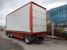 platte aanhanger vrachtwagen GS Meppel AI-2800 3 As Vrachtwagen Aanhangwagen Schuifzeil, WD-ZL-65 2002