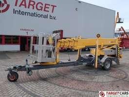 hoogwerker aanhangwagen Omme 2100EBZ Telescopic Towable Boom Work Lift 2110cm 2005