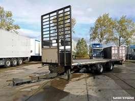 platte aanhanger vrachtwagen Draco MXS 218  WIPKAR  HARDHOUTEN VLOER  BPW ASSEN 2007