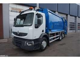 vuilniswagen vrachtwagen Renault Premium 380 DXI Norba MF 300 2012