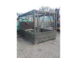 open top zeecontainer Container laadbak 425 cm