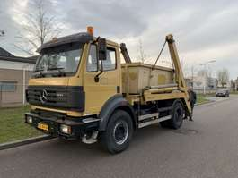 containersysteem vrachtwagen Mercedes Benz 1931 nooteboom like new !!! only 433.000 km !!! 1996
