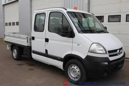 open laadbak bedrijfswagen Opel Movano 2.5 CDTI-7 Sitzer-AHK- Orginal 67 T Km 2005