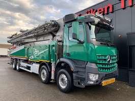 betonpomp vrachtwagen Mercedes Benz AROCS 4151 8X4 - SERMAC 6RZ56 SUPER LIGHT CONCRETE PUMP 2020
