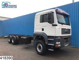 chassis cabine vrachtwagen MAN TGA 33 480 6x4, Steel suspension, 13 Tons axles, Manual, Retarder, Hub r... 2005