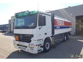 tankwagen vrachtwagen Mercedes Benz Actros 2546 Day Cab, Euro 3, ADR 2005