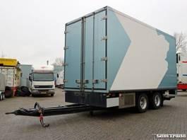 koelwagen aanhanger KMA MW 18L WIPKAR DOORLAADSYSTEEM  LAADKLEP TRS KOELING 2001