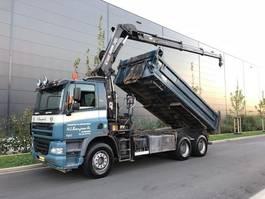 kipper vrachtwagen > 7.5 t DAF 85.380  Kipper+Kran Hiab 144E-3 Hipro Mit Remote control 2006