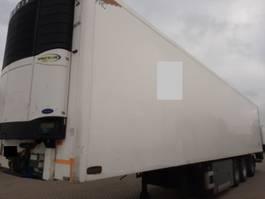 koel-vries oplegger Pacton koeltrailer met stuuras en ondervouwklep 2008